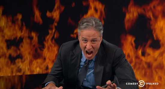 Goodbye, and Good Riddance, Jon Stewart