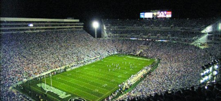 Penn State Blue Band Honors the Armed Forces